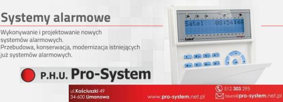 systemy alarmowe LIMANOWA.IN